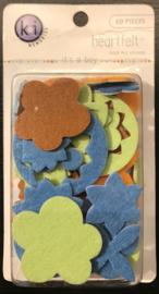 It's a Boy Fuzzy Felt Stickers KI Memories