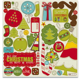 Chipboard Accents - North Pole Collection