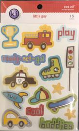 Pop Art Sticker Accents Little guy