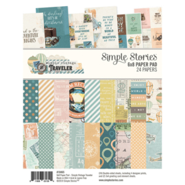 Paper Pad 6x8 - Simple Vintage Traveler Collection