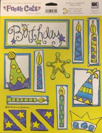 My Birthday Fresh Cuts - EK Succes
