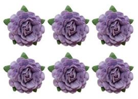 Tea Roses Purple ScrapBerry's