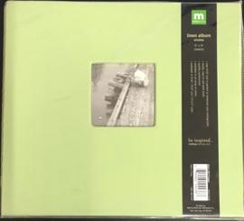 """9"""" x 9"""" Linen Album Window Peapod"""