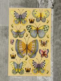 Debbie Mumm Butterfly - Creative Imaginations
