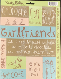 Girlfriends Stickers - Rusty Pickle