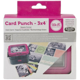Card Punch 3x4