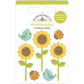 Doodle-Pops Sunflowers - Doodlebug