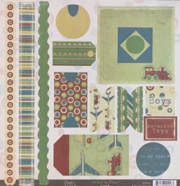Zoom Tags & Frames Die-Cuts - Crate Paper