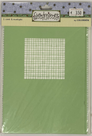 Simple Solid Green by Sue Dreamer - Colorbok