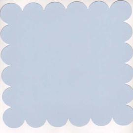 Light Denim 12x12 scalloped - Bazzill