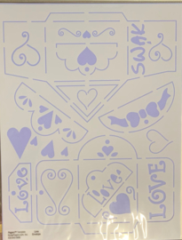 Love Envelope Template - Pagerz