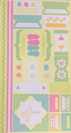 Cardstock Stickers Easter