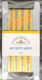 Accent Satin School Doodlebug Design