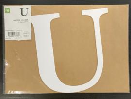 U Chipboard Letters 8: - Making Memories