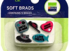 Soft Brads Cat - Around the Block
