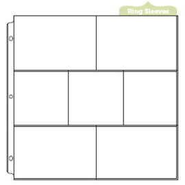 Albums Made Easy Page Protectors 4 - 6x4 / 3 - 4x4