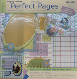 Perfect Pages Everyday Memories 12x12 - Colorbok