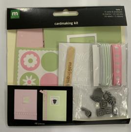 Baby 1 Cardmaking Kit - Making Memories