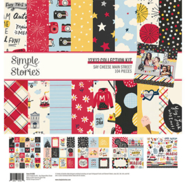 Say Cheese Main Street Kit 12x12 - Simple Stories