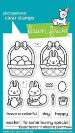 Easter Before 'n Afters Stamps - Lawn Fawn
