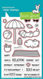 On the Beach Clear Stamps - Lawn Fawn