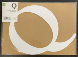 "Q Chipboard Letters 8"" - Making Memories"