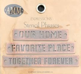 Stencil Phrases