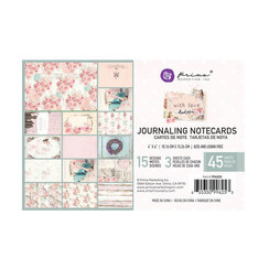 With Love Journaling Cards - Prima Marketing