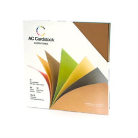 Textured Cardstock Earth Tones Value Pack - AC