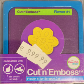 Cut 'n' Emboss Flower #1 - Allison Design