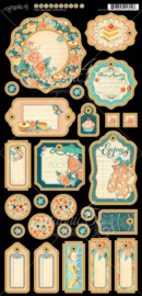 Cafe Parisian Chipboard 1 Graphic 45