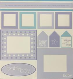 Baby Boy/Birthday Boy Die Cuts - My Mind's Eye