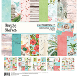 Simple Vintage Coastal Collection Kit 12x12- Simple Stories