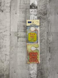Distressed Page Hangers Pet - Karen Foster