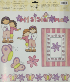 My Sister and Me Stickers - My Mind's Eye