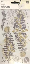 Flowers Rub-ons