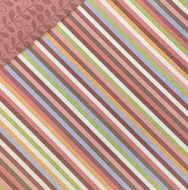 Botanical Diagonal Stripe - Provo Craft