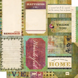 Journaling Cards - Fleuriste Collection