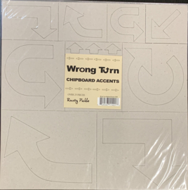 Wrong Turn Chipboard Accents - Rusty Pickle