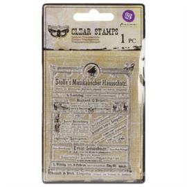 Finnabair Clear stamp Stolle's Musikalischer Haussachatz