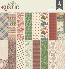 Rustic Collection 12x12 paper pad - Authentique