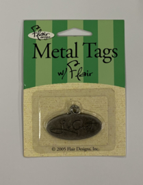 Le Chat Metal Tag - Flair Designs