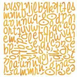 Mini Monogram Stickers - Ambrosia Collection Basic Grey