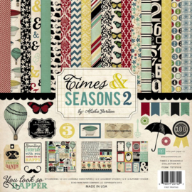 Times & Seasons 2 Collection Kit 12x12 Echo Park