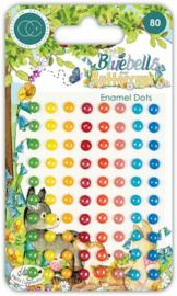 Bluebells and Buttercups Enamel Dots - Craft Consortium