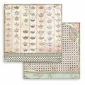 Alice Tea Cup Texture  - Stamperia