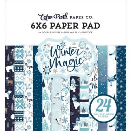 Winter Magic 6x6 Paper Pad - Echo Park
