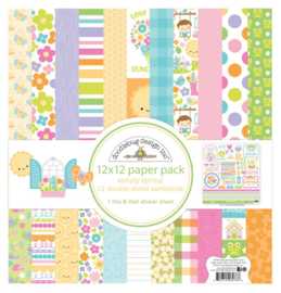 Simply Spring paper pack