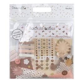 Neutral Goody Bag - Back to Basics Collection Dovecraft