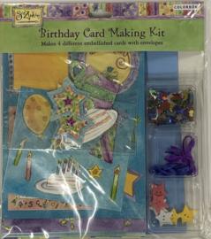 Sue Zipkin Birthday Card Making Kit - Colorbok